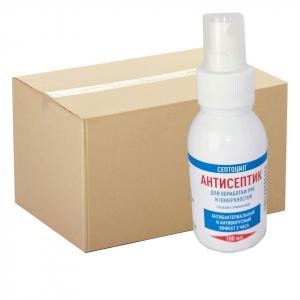 Септоцил Антисептик для рук и поверхностей 24 х 100мл